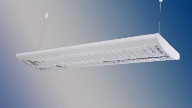 Fluorescent Hanging Lamp (HALO-BR-MX865)