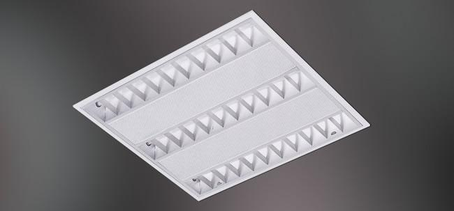 Fluorescent Recessed Mounted Grid T5