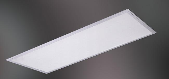 Fluorescent Reflectalouver with Diffuser