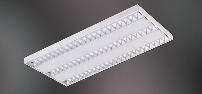 Fluorescent Surface Mounted Grid T5
