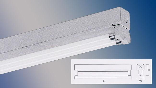 Fluorescent Slim Batten Box type Double Y