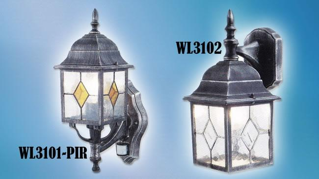Wall Lamp (HALO-WL-3101-PIR WL-3102)